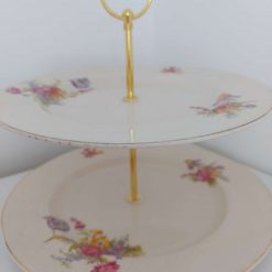 2 tier cake stand 'Grace' 4