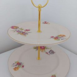 2 tier cake stand 'hope' 1