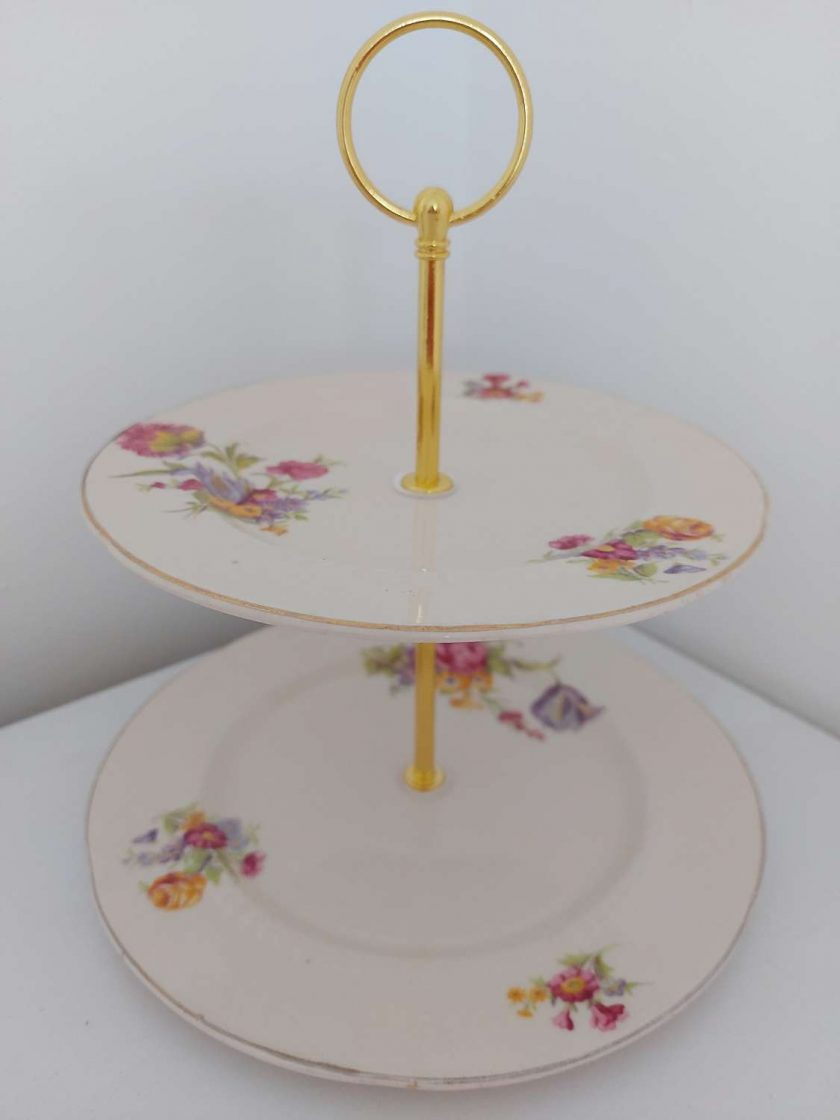 2 tier cake stand 'hope'