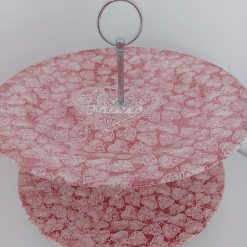 Love hearts cake stand