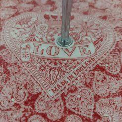 Love hearts cake stand 3