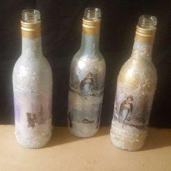 3 Winter mini Bottles 3
