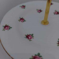 """Vintage cake stand """"flora"""" 3"""