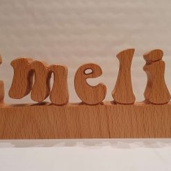 Wood Name Plaque
