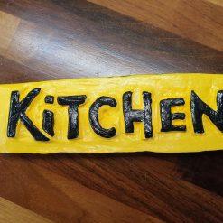 'Kitchen' door sign #1
