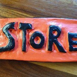 'Store' door sign #1