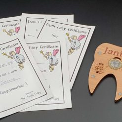 Tooth Fairy Coin Holder