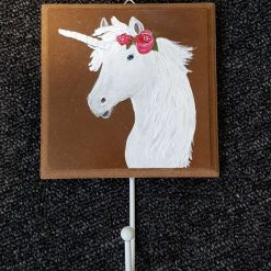 Hand Painted Coat Hook - Unicorn