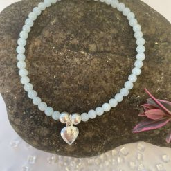 Sold out!!!!!! Amazonite and sterling silver bracelet. Well-being collection