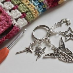 Fairy Crochet Stitch Markers, Holders, Keepers - version 1
