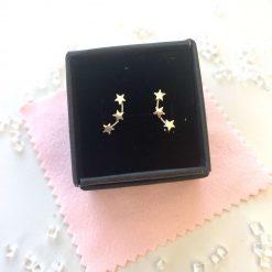 Star creeper earrings