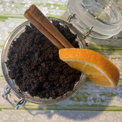 Coffee cinnamon body scrub, 100 % Natural, Vegan