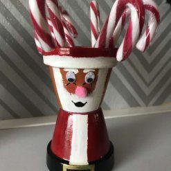 Mini Pot People (Santa)