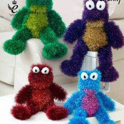 King Cole - Knitting Pattern - Frogs