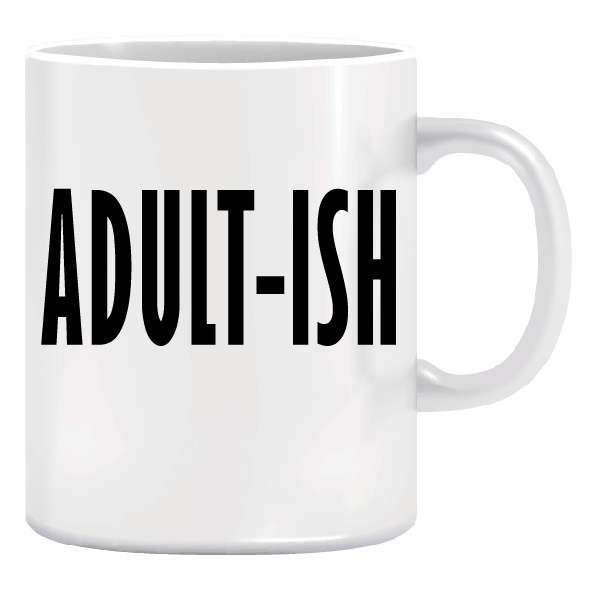 Ceramic Coffee Mug - Christmas Gift Idea - Adult-ish 1
