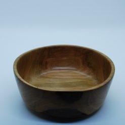 Hand turned cherry wood bowl