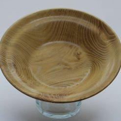 Hand turned acacia bowl