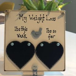 Weight Loss Plaque - Free postage