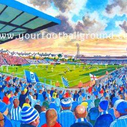 BRIGHTON HOVE ALBION - Fantastic Football Art