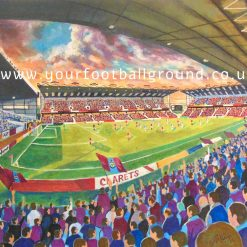 BURNLEY - Fantastic Football Art