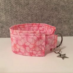 Pink Floral House Collar