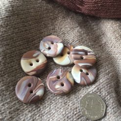 Chunky handmade large round buttons