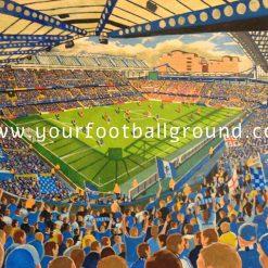CHELSEA - Fantastic Football Art