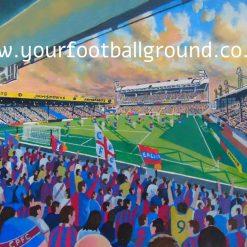 CRYSTAL PALACE - Fantastic Football Art