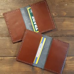 Brown Genuine Leather Card Holder