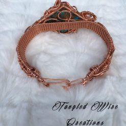 Copper Turquoise Cuff Bracelet 7