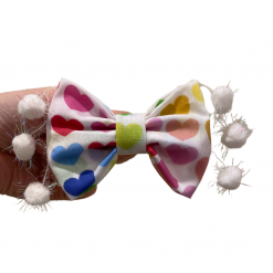 Support Love bow tie