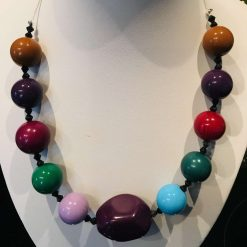 Multi Colour chunky necklace