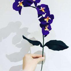 Felt Orchid stem
