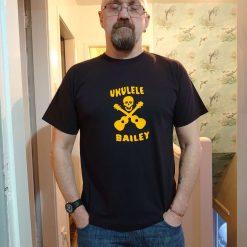 Up The Shard, Ukulele Bailey, men's T-shirt