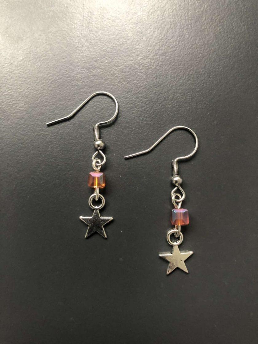 Star Drop Earring 1