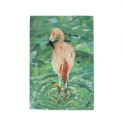 Flamingo XL Tea Towel