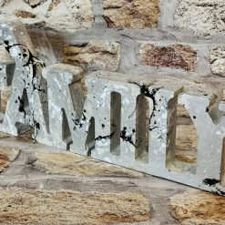 Family Freestanding Plaque, Concrete