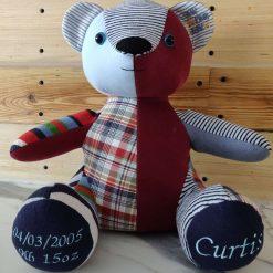 Curtis Keepsake Memory Bear