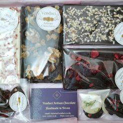 Luxury Artisan Vegan Chocolate Gift Box (Lg)