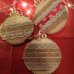 Traditional Rustic Baubles individual 2