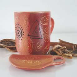 MY AFRICA TEA SET -  Hand painted | Dishwasher and Microwave Safe |