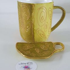 ORIENTAL TEA SET -  Hand painted | Dishwasher and Microwave Safe |