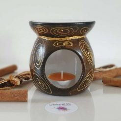 MY AFRICA OIL and WAX MELTS BURNER Hand painted | Dishwasher Safe |