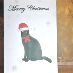 Christmas Cards, Cat Christmas Card 13