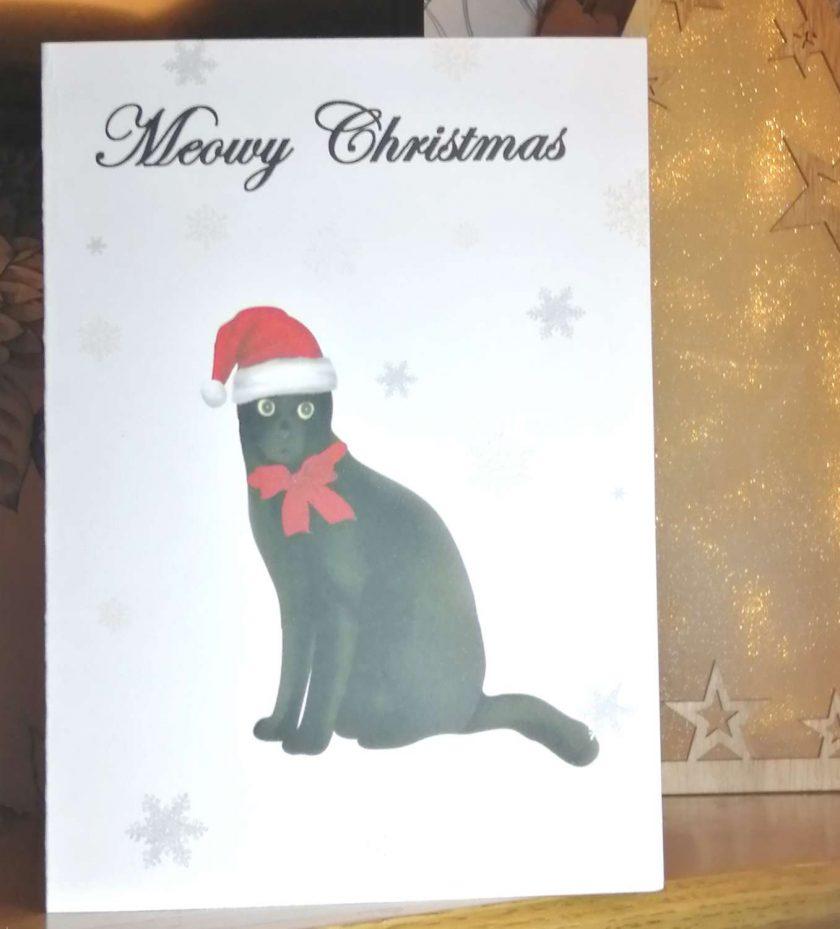 Christmas Cards, Cat Christmas Card 7