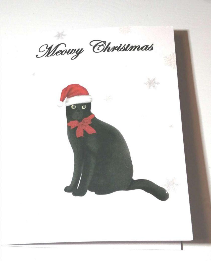 Christmas Cards, Cat Christmas Card 4