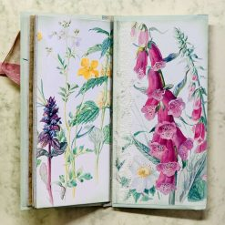 Edith Holden tri-fold envelope mini journal