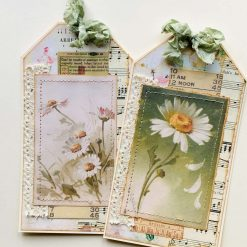 For USA customers Mixed package of junk journal ephemera/embellishments, belly bands, tuck spots, tags, floating pockets