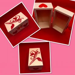 Personalised Small Wooden Box