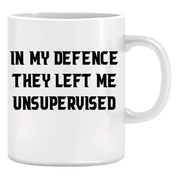 Ceramic Coffee Mug - Christmas Gift Idea - They Left Me 1